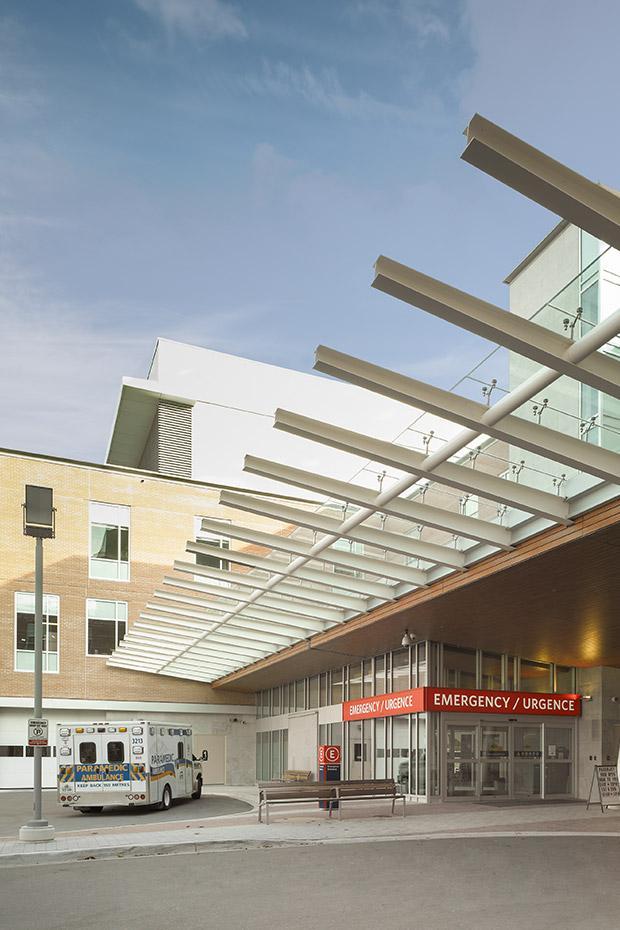 Royal Victoria Hospital Emergency Entrance