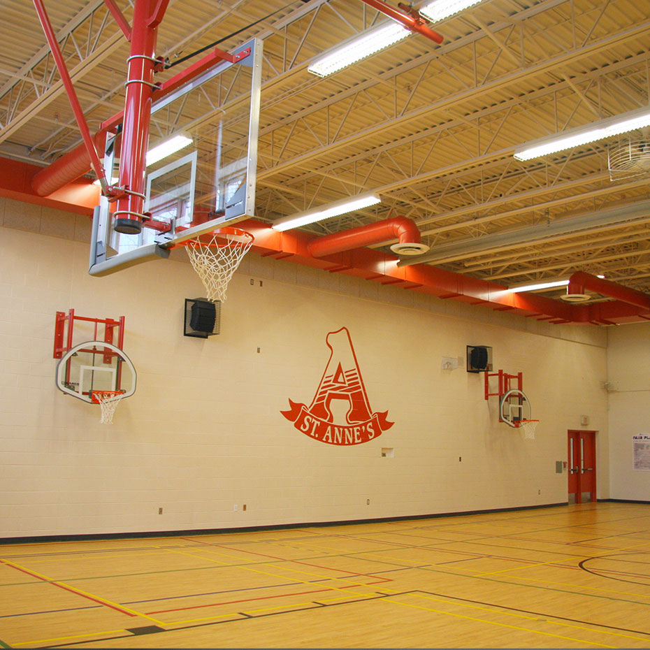 St. Anne Elementary School Gym