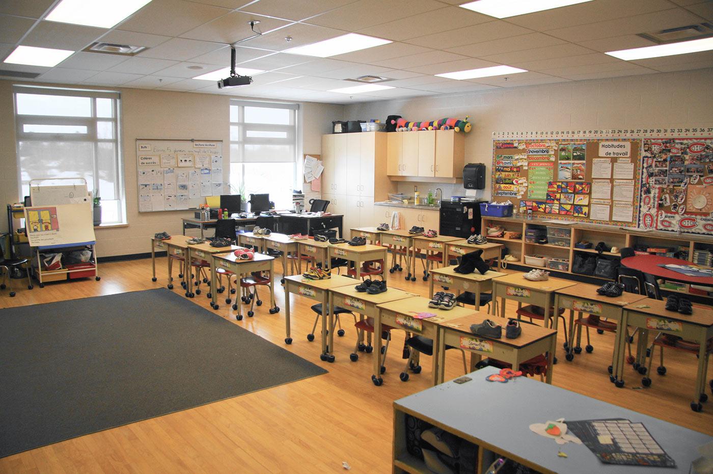 St. Anne Elementary School Classroom