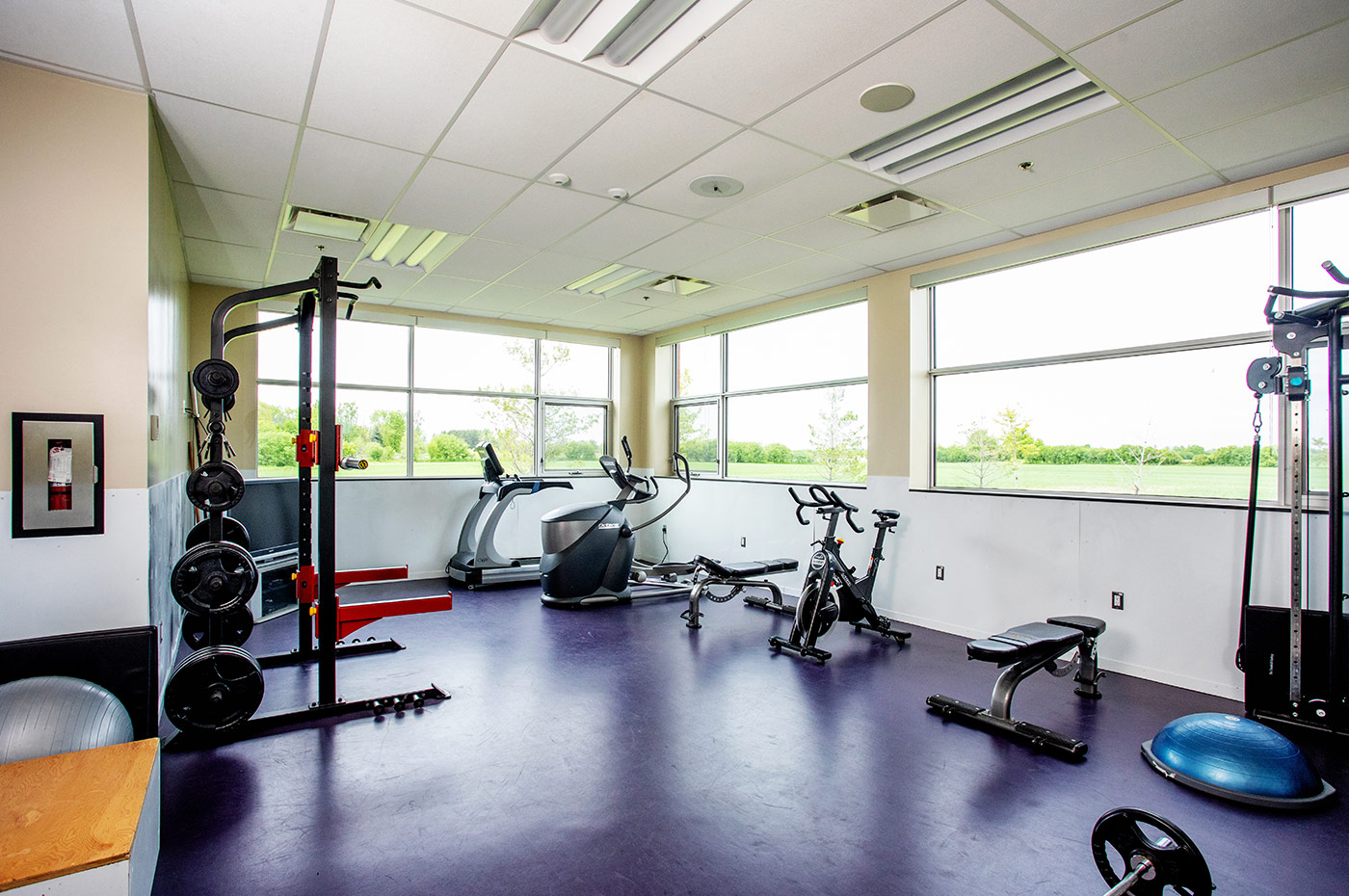 Brampton Fire and Emergency Services Station Fitness Centre