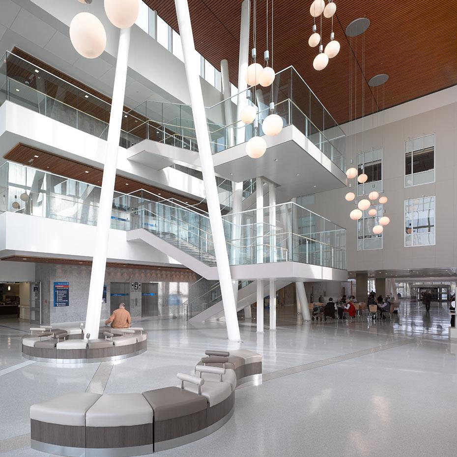 Royal Victoria Hospital Atrium