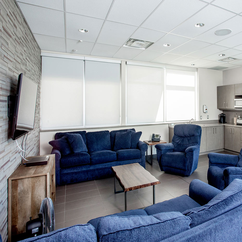 York Region Paramedic Response Station #13 Lounge