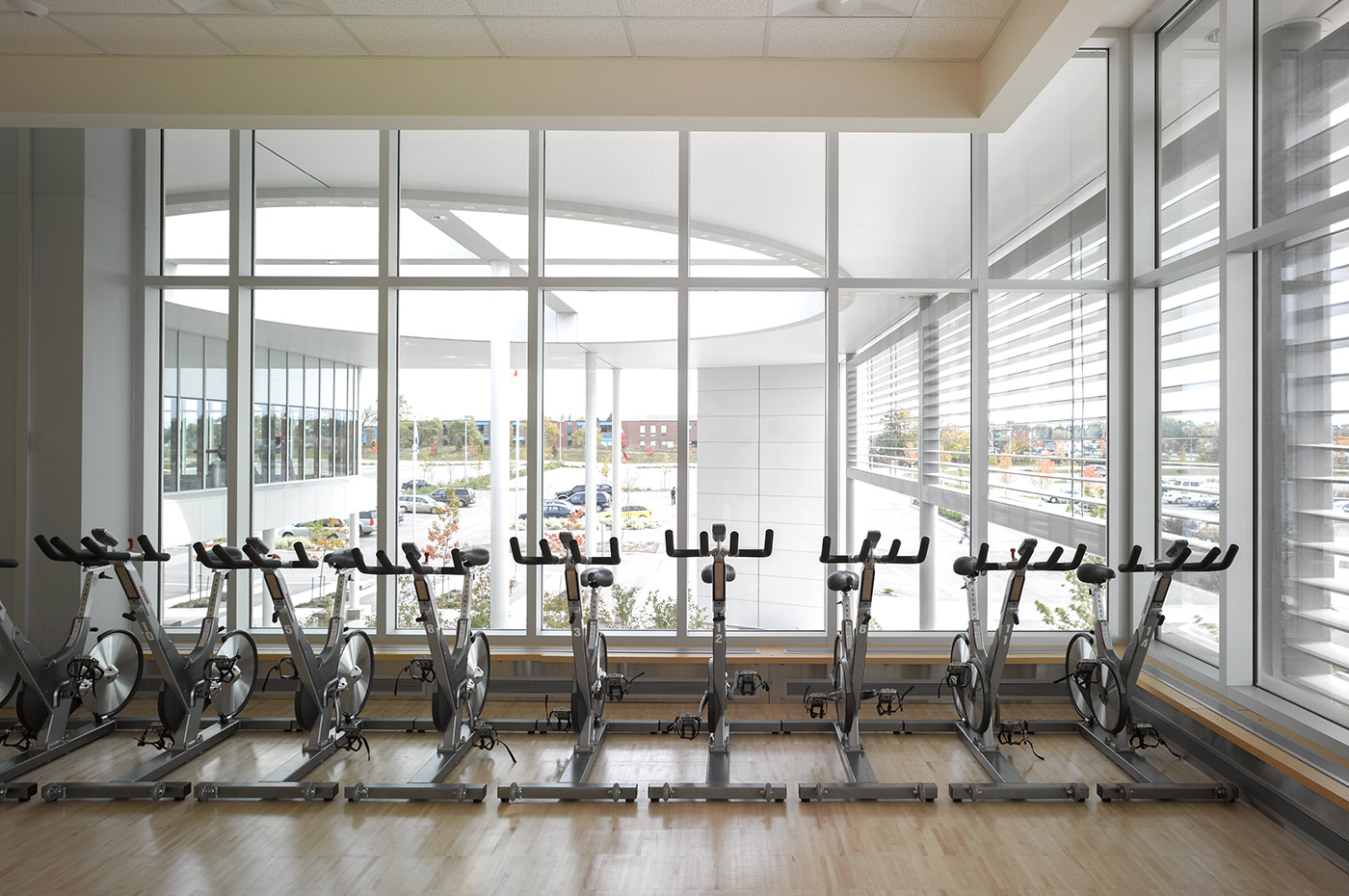 Bradford West Gwillimbury Leisure Centre Fitness Area