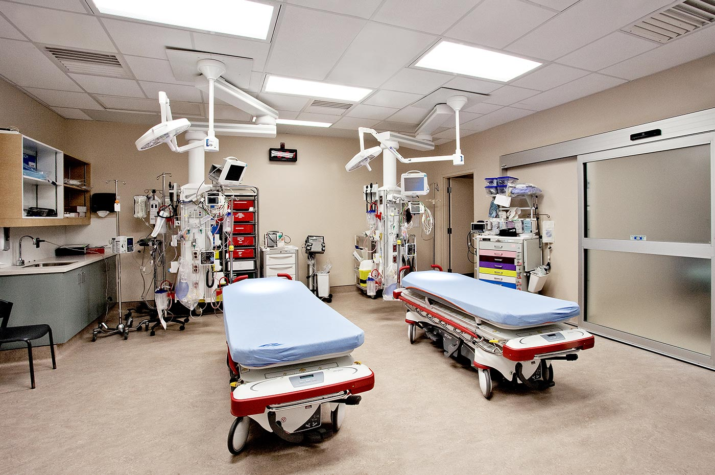 Georgian Bay General Hospital medical room