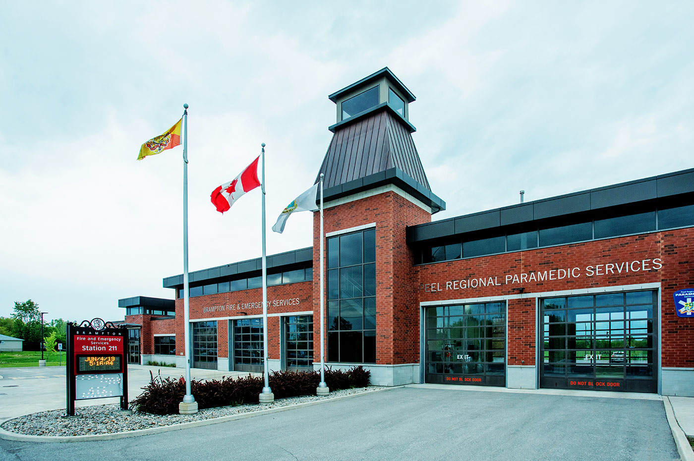 Brampton Fire and Emergency Services Station