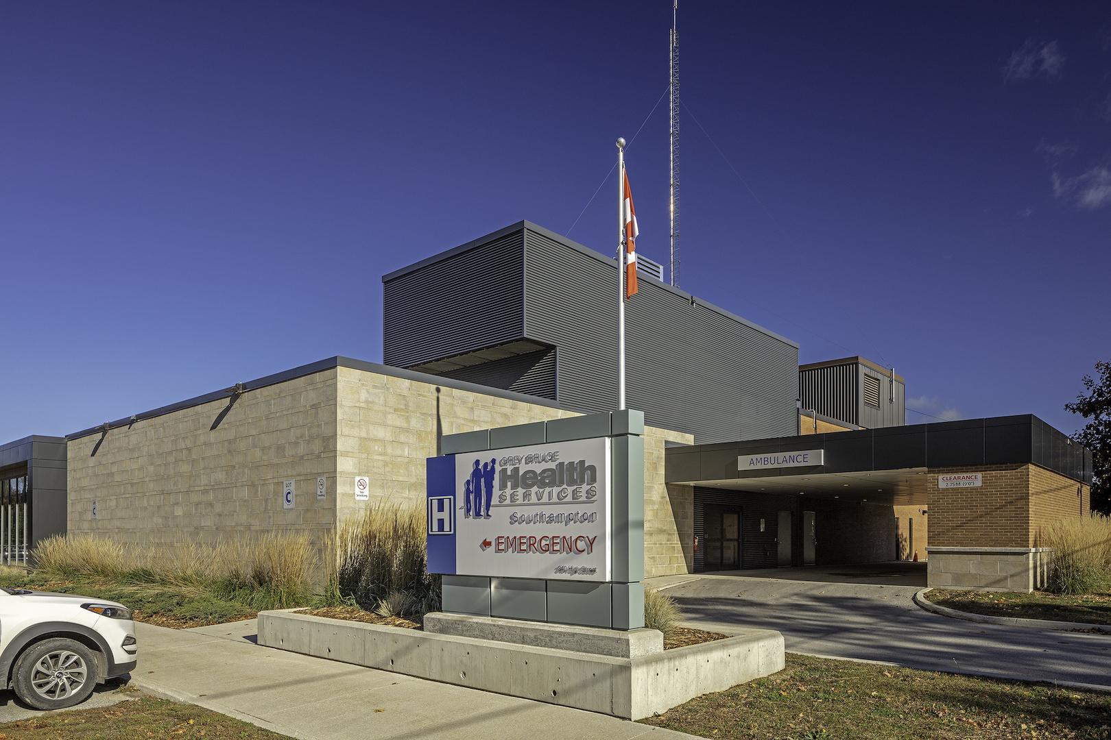 Southampton Hospital Exterior