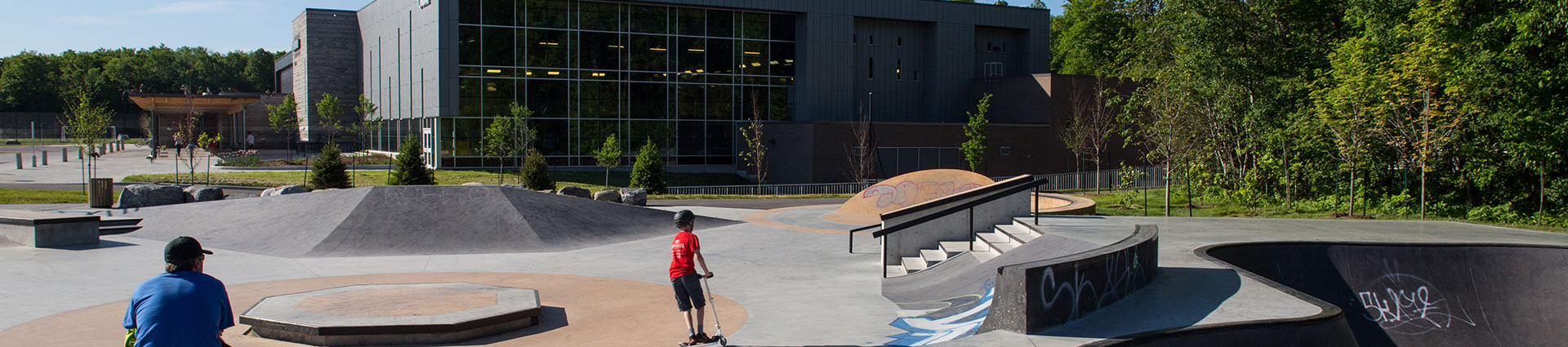 Richcraft Recreational skate park